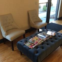 salon m waiting area