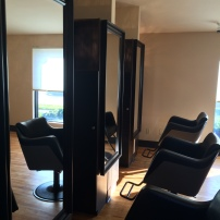 salon m hair styling station row